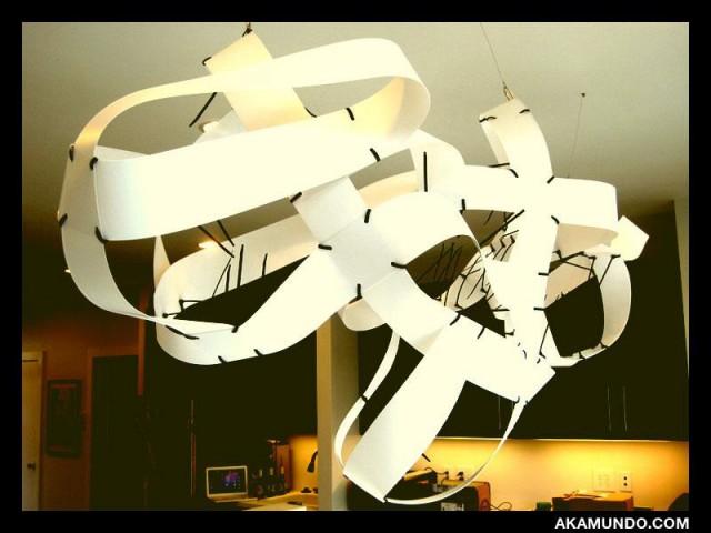 Vertical Blinds Sculpture