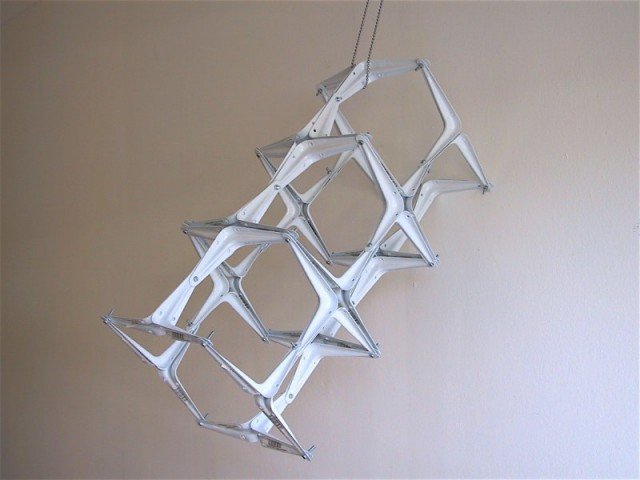 Metal Hangers Tower