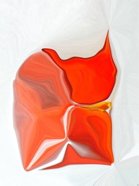 Found photographs manipulated into abstract compositions. Morphisms Series, Edmond van der Bijl