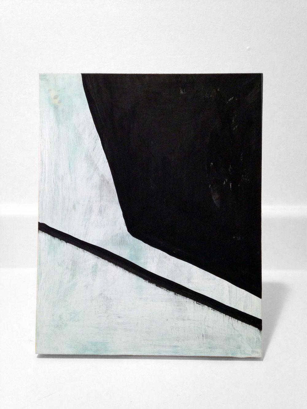 Moss Angle 8x10 Wood Panel by Edmond van der Bijl